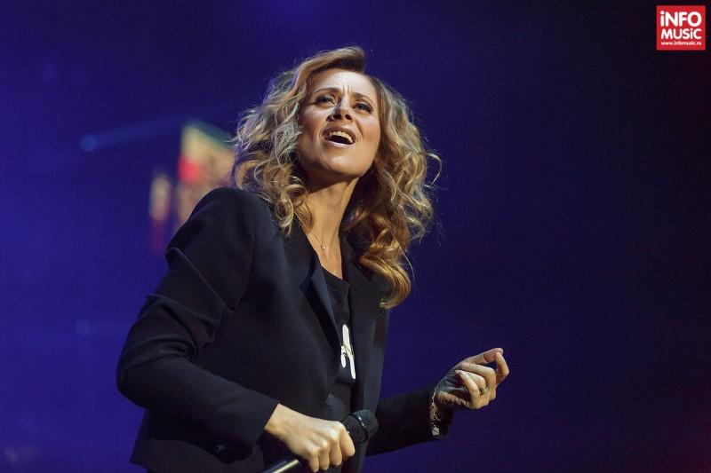 Lara Fabian concerteaza la București.